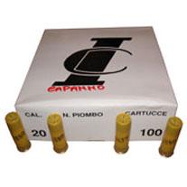 CARTUCCE DA CAPANNO  calibro 20 – T.1